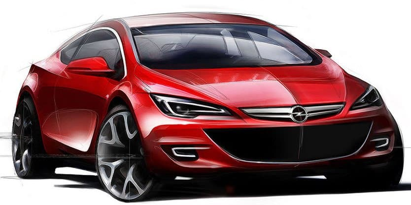 opel astra 2011 opc. Opel previews production Astra