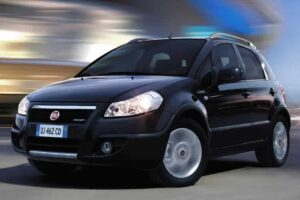Fiat sedici: suv compatto della Fiat