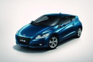 Honda CR-Z cabrio : per adesso è solo un modellino