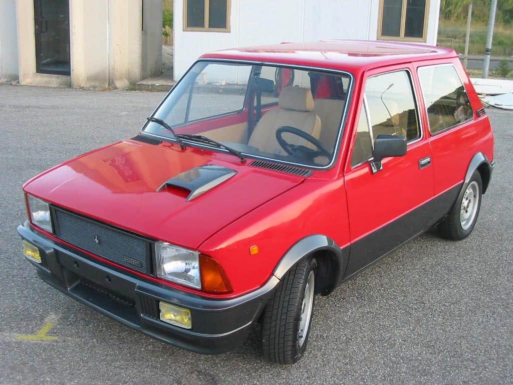 La Mini fu prodotta su licenza