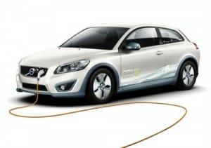 Volvo C30 EV : auto elettrica della Casa svedese
