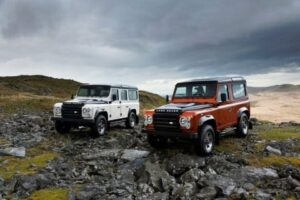 Land Rover Defender Fire e Ice