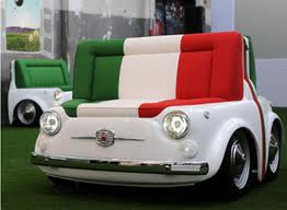 divano Fiat 500 Design Collection