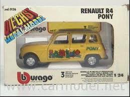 renault 4 burago
