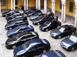 auto blu politici