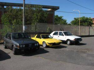 Auto raduno organizzato dal club Nuvolari