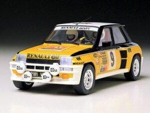 Renault 5 modellino Tamiya