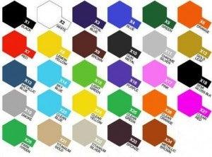 colori per modellini