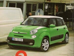 La Fiat che ricorda la Mini: Fiat Ellezero