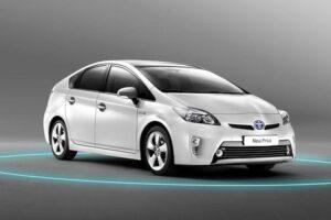 Nuovo restilyng per la Toyota Prius