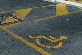 auto per disabile