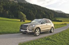 Mercedes ML500 4Matic Blue Efficiency