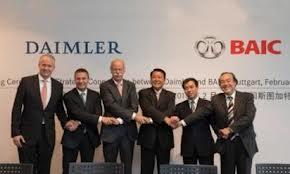 Partnership tra Daimler e Baic