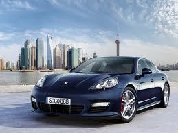 Porsche Panamera a Shangai