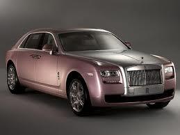 Rolls Royce rosa: aiuta la ricerca contro il cancro