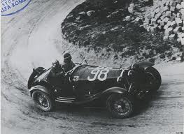 Alfa Romeo 8c 2300 di Tazio Nuvolari