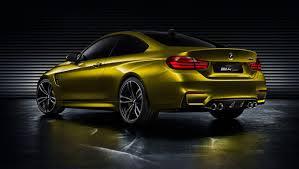 BMW M4 coupé sportiva