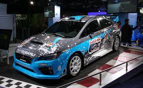 Subaru WRX STI Globalk Rallycross