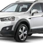 Chevrolet Captiva: Suv crossover semicoperto
