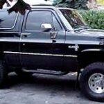 Chevrolet K5 Blazer: suv full size