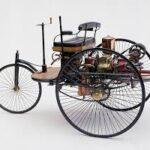 Velociped Patent MotorWagen: la prima autovettura con motore a scoppio