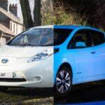 Nissan Leaf fosforescente per l'autostrada luminescente olandese