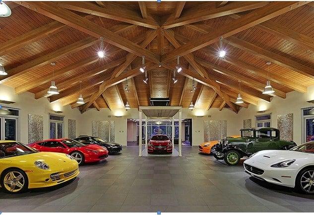 Garage dentro casa for How big is a one car garage