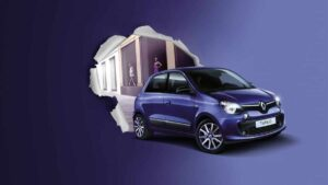 Renault Twingo Lovely, chic in città a 99€ al mese