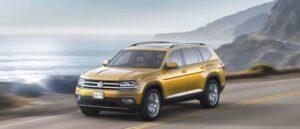 Diffuse le immagini della Volkswagen Atlas