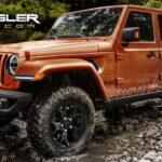 Le prime immagini della Jeep Wrangler