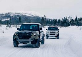 Land Rover defender idrogeno