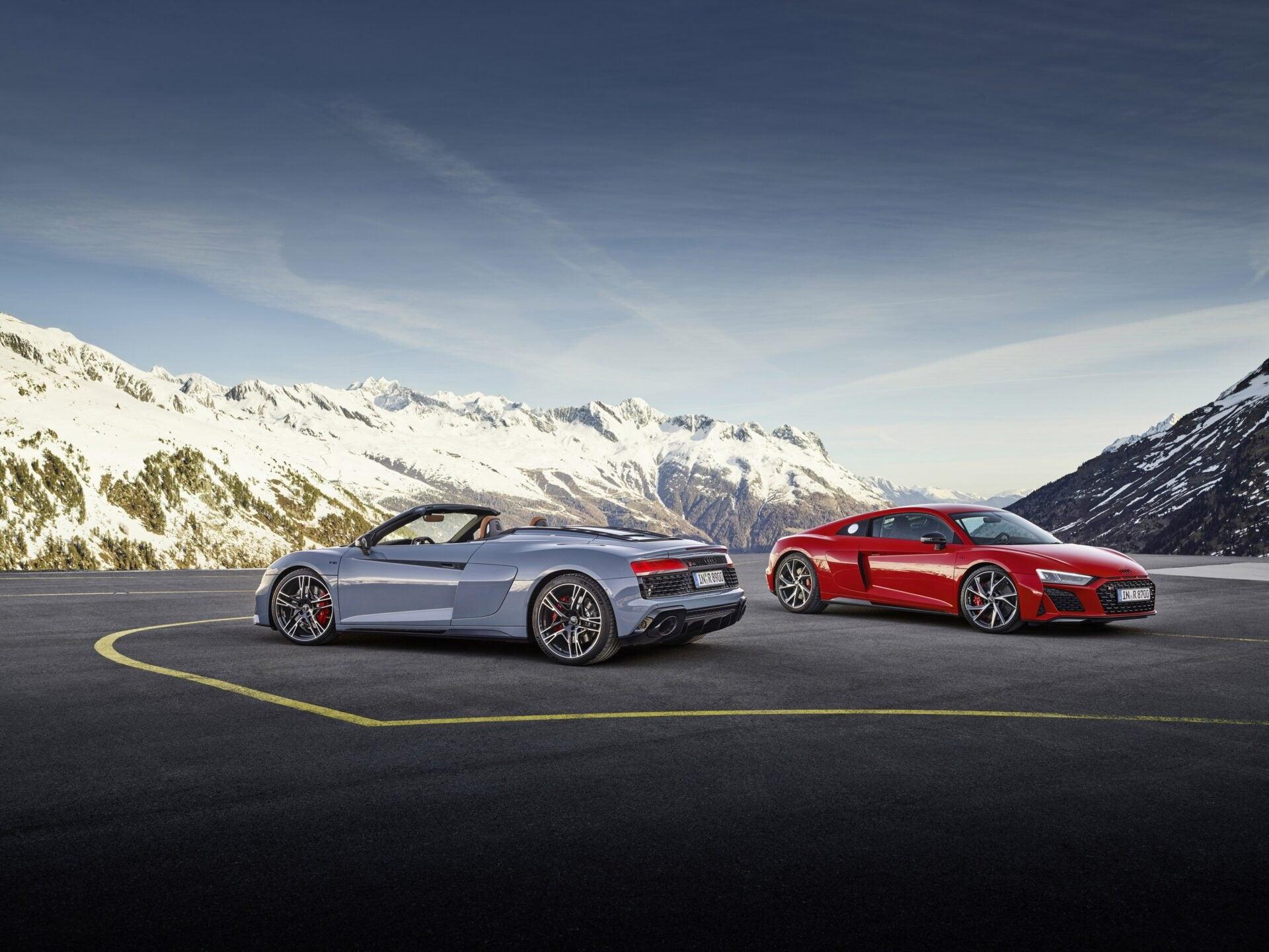 Audi R8 Performance RWD